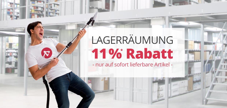 Große Lagerräumung bei Lampenwelt.de