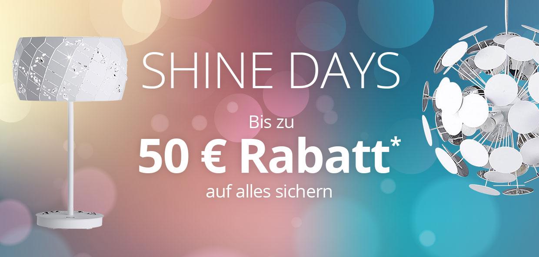 SHINE DAYS bei Lampenwelt.de