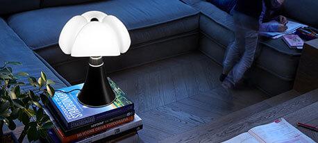 LED-Designer-Tischleuchte Minipipistrello