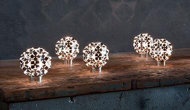Einzigartige LED-Tischleuchte Ortenzia