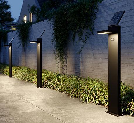 Solar-LED-Wegelampe Silvan