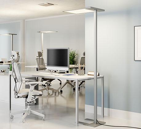 LED-Office-Stehlampe Esmael