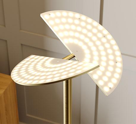 LED-Deckenfluter Anniki