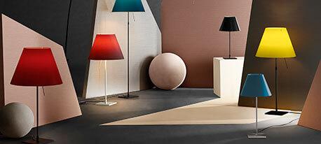 Strahlend gelbe LED-Tischleuchte Costanza