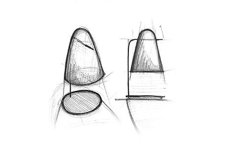 LED-Tischlampe Prandina Sino T3