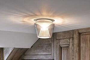 Annex - LED-Deckenleuchte mit Kristallreflektor