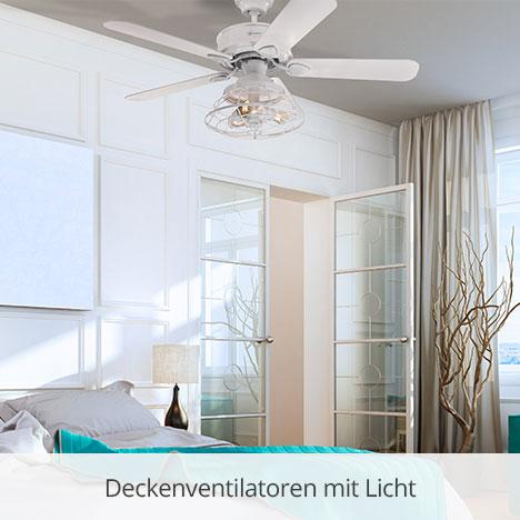 Deckenventilatoren mit Licht von Westinghouse