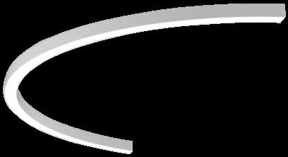 Pendelleuchte RIDE RING SYSTEM 180° aus Aluminium