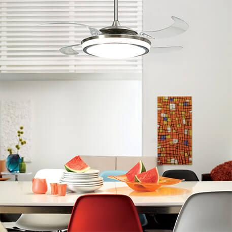 Beleuchteter Deckenventilator Fanaway Evo 1 LED (8558015)