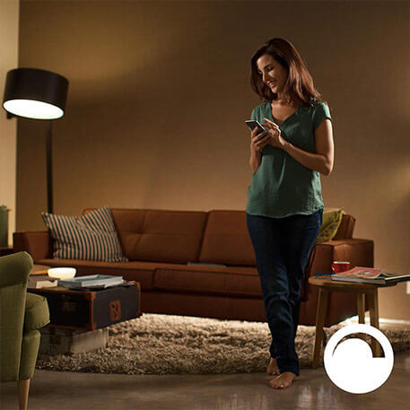 Philips Hue White 9,5 W E27 2er Set