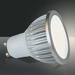 GU10 5W 830 Hochvolt LED-Reflektorlampe, 90° Grad