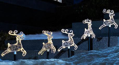 Weihnachtsbeleuchtung Aussen Motive.Weihnachtsbeleuchtung Für Innen Und Außen Lampenwelt De