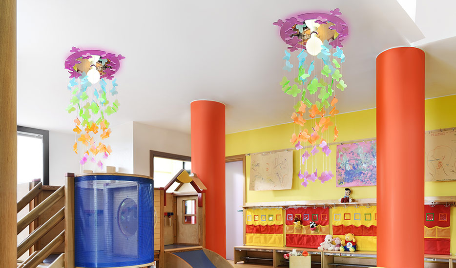 Kinderzimmer-Deckenleuchten