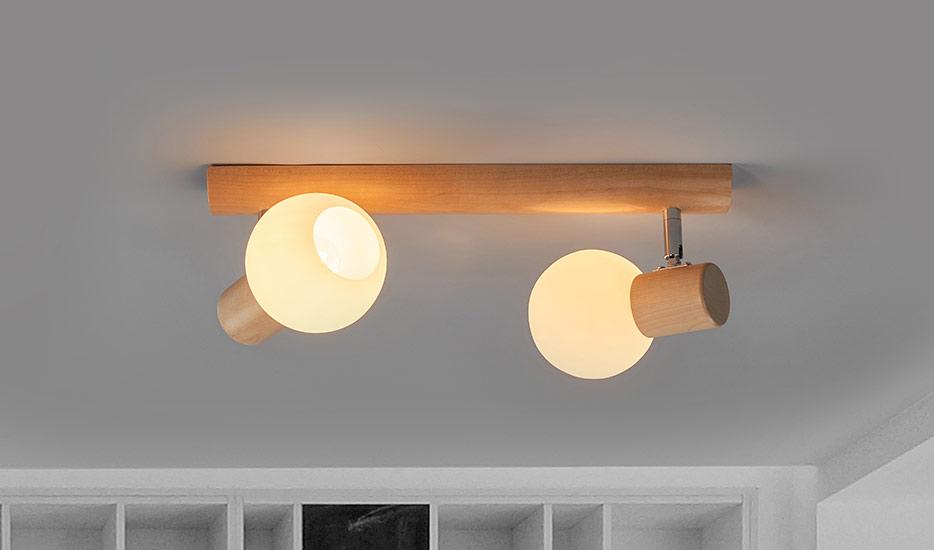 Deckenlampen Aus Holz Holz Lampen Lampenwelt De