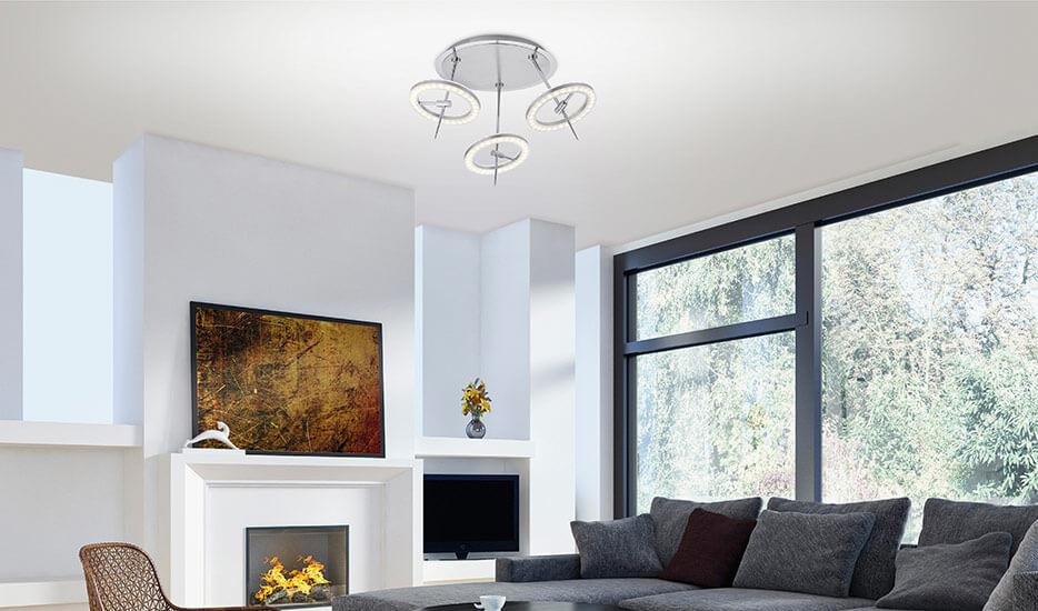Smart-Home-Deckenleuchten: stimmungsvolle Lichtszenarien und praktische Funktionen für den Alltag