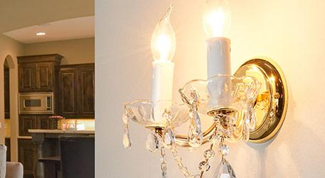 Passen Wandlampen mit Kristall zum antiken Stil?