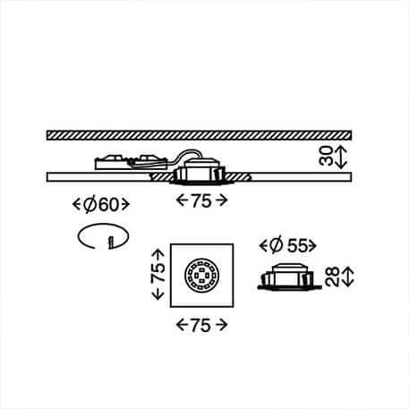 Hervorragend Einbaustrahler für außen, ideal für Dachüberstand, auch mit LED HZ37