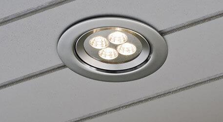 Fabulous Einbaustrahler für außen, ideal für Dachüberstand, auch mit LED XI35