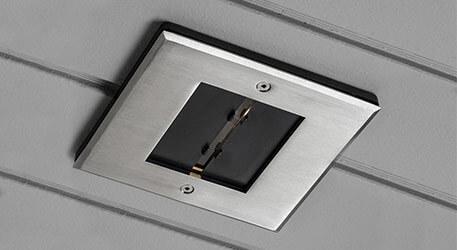 Gut gemocht Einbaustrahler für außen, ideal für Dachüberstand, auch mit LED FE97