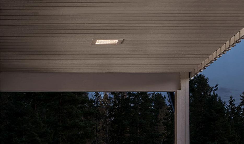 Bekannt Einbaustrahler für außen, ideal für Dachüberstand, auch mit LED UB21