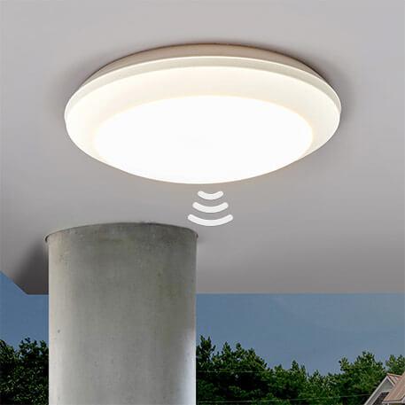 Sensor Deckenleuchte Umberta 2xE27 weiß