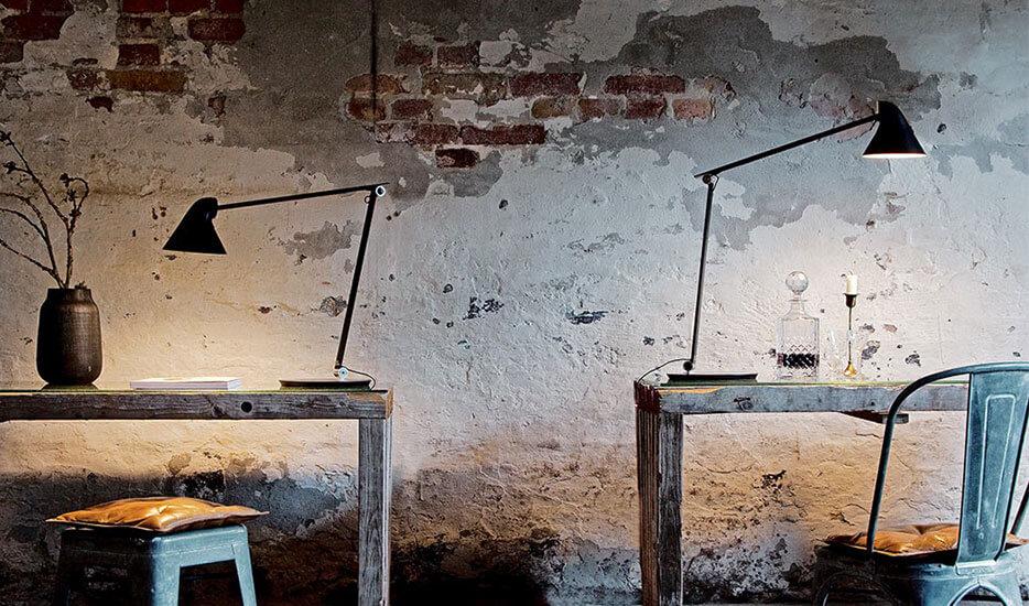 Louis Poulsen NJP LED-Tischleuchte mit Fuß