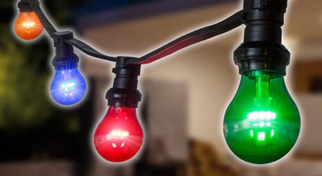 E27 1W LED-Lampe Rot