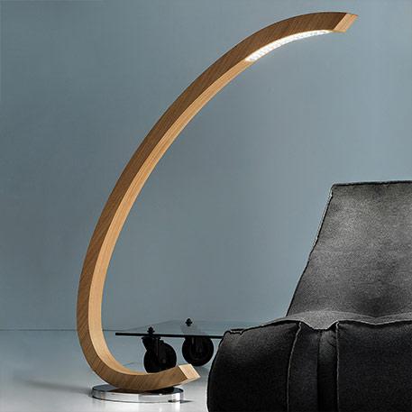 Holz-Stehlampen für Ihr Wohnzimmer | Lampenwelt.de