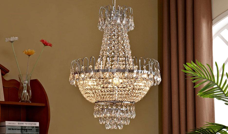 Kronleuchter Gold Kristall ~ Kristall kronleuchter kristall lüster lampenwelt