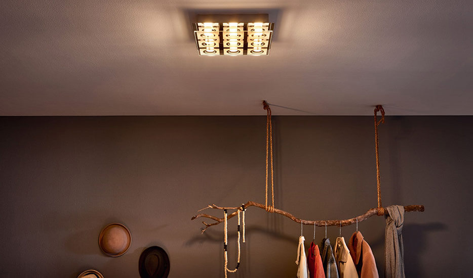 Moderne LED-Deckenleuchte
