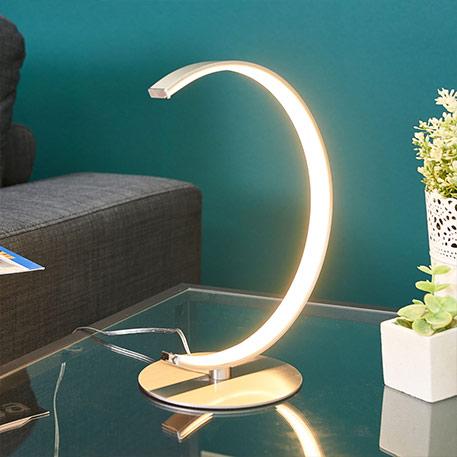 C-förmige LED-Tischlampe Sipan