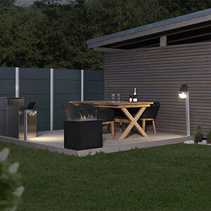 STEINEL XSolar Stand LED-Solarleuchte weiß