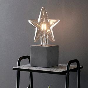 Zauberhafte Sternen-Dekorationsleuchte Billsta