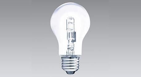 Halogenlampe, warmweiß, klar