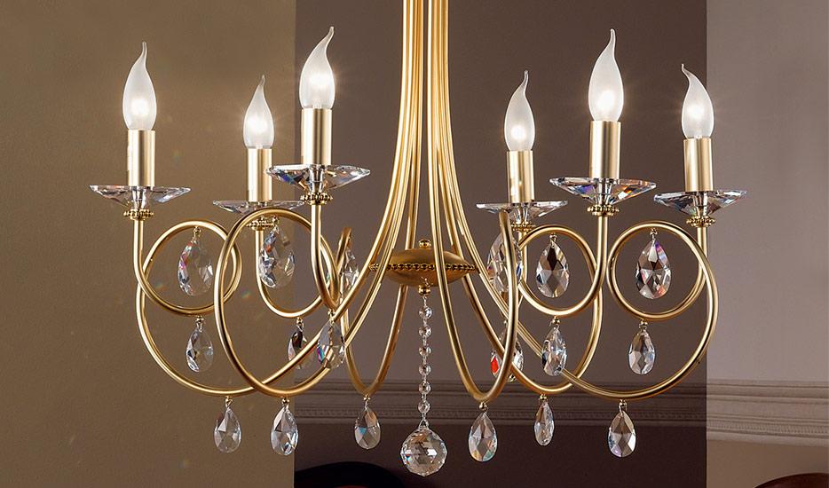 Kronleuchter Mit Wandlampen ~ Kronleuchter und lüster kaufen lampenwelt