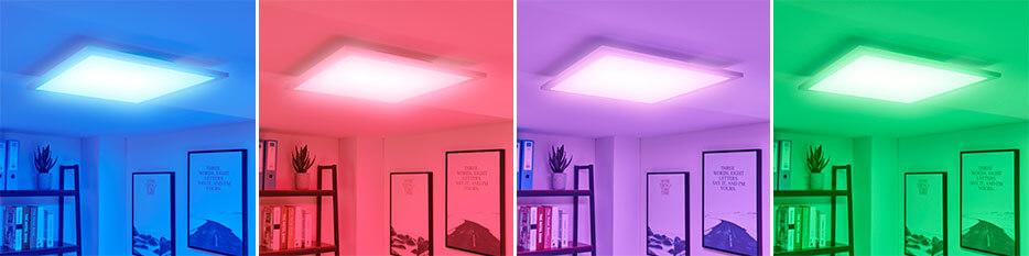 Lysander - LED-Panel, verstellbare Lichtfarbe