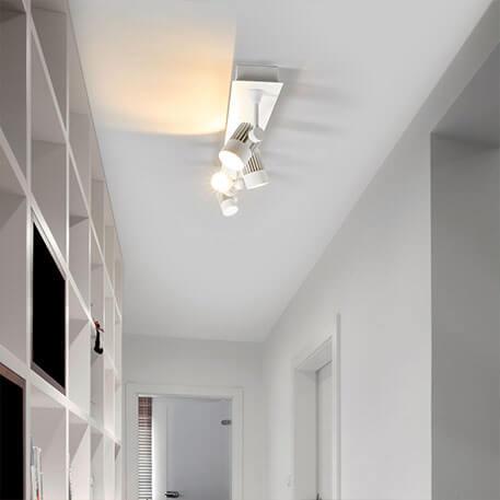 Dimmbare LED-Auf- und Einbaulampe Justus