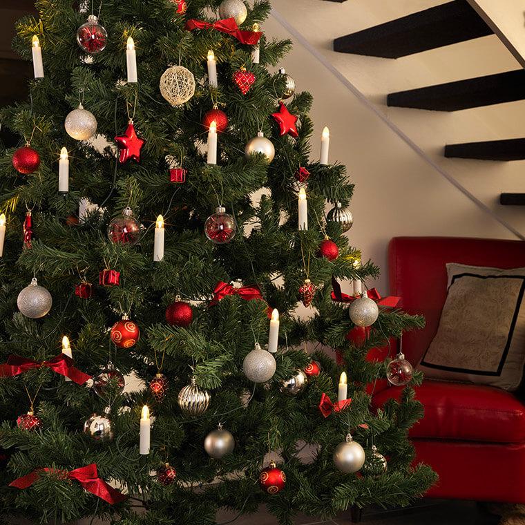 Lichterkette-Tannenbaum