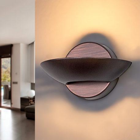 Matti - LED-Wandfluter aus Metall