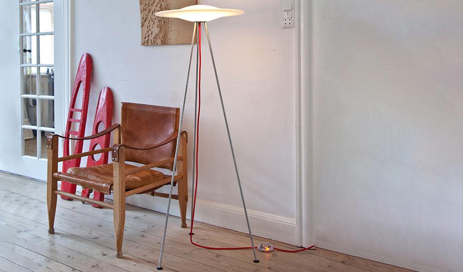Piet Hein Sinus - Designer Stehlampe