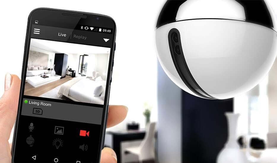 AwoX CamLIGHT LED-Lampe +WLAN HD-Kamera