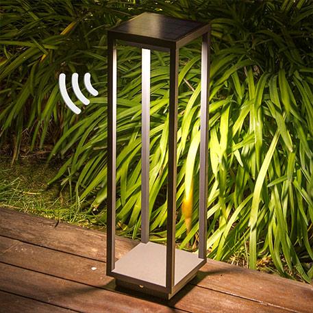 Solar-LED-Sockelleuchte