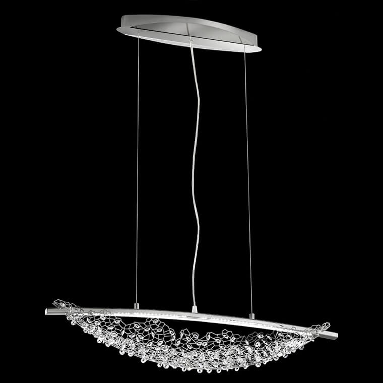 Swarovski LED-Kristallhängelampe Amaca