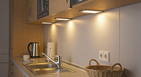 Unterbauleuchten & Unterschrankleuchten, auch mit LED | Lampenwelt.de