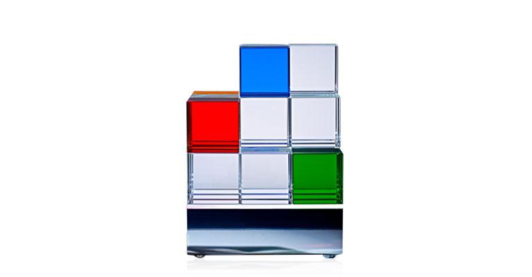 Glaswürfel Cubelight CL1 von TECNOLUMEN
