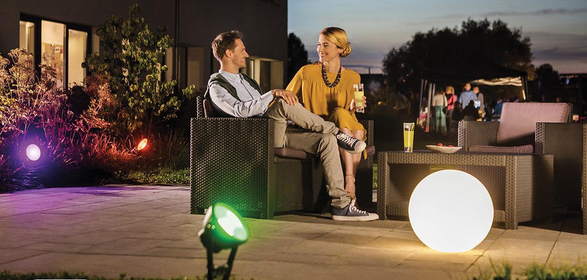 Beleuchtungskomfort per Fernbedienung