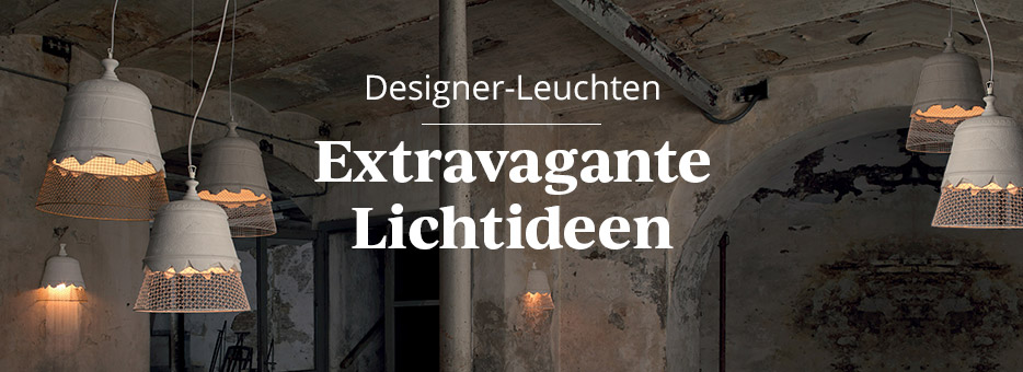 Designer-Leuchten - Extravagante Lichtideen