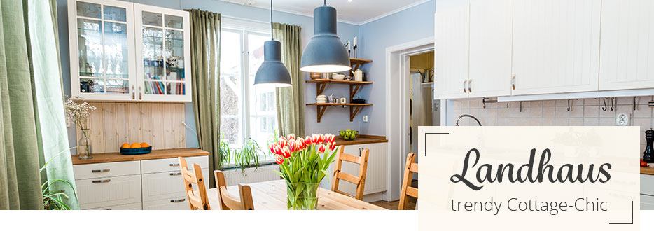 Lampen im Landhaus-Stil