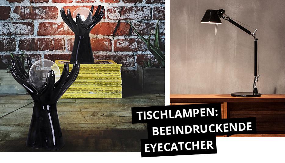 Tischlampen: Beeindruckende Eyecatcher