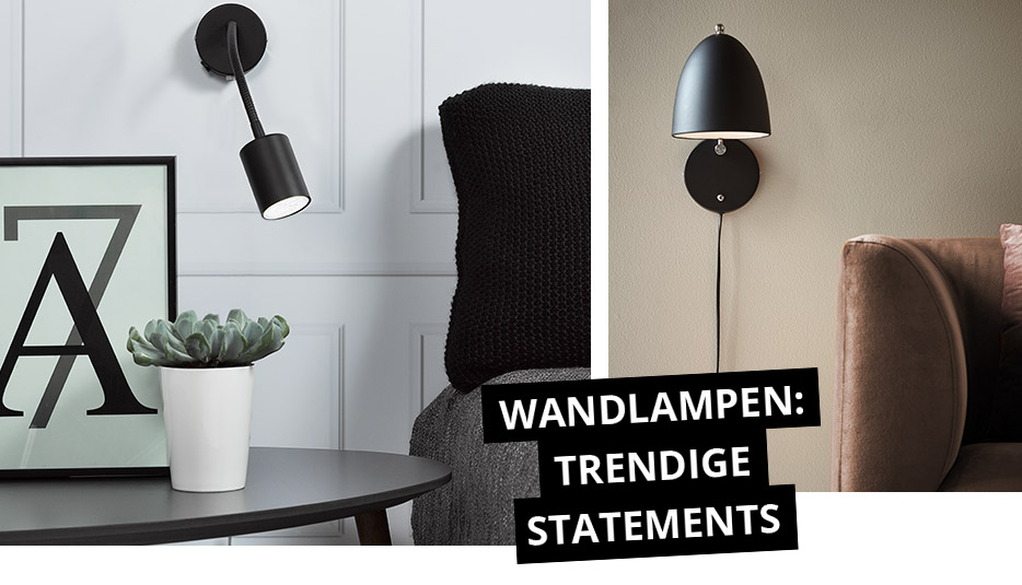 Wandlampen: Trendige Statements